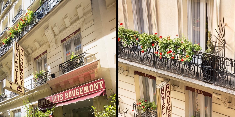 H tel de la cit rougemont site officiel h tel deux for Reservation hotel paris